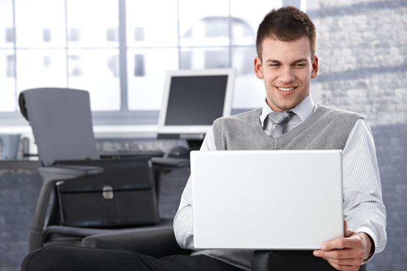 Büromitarbeiter