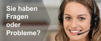 Kundenservice - Sie haben Fragen oder Probleme?